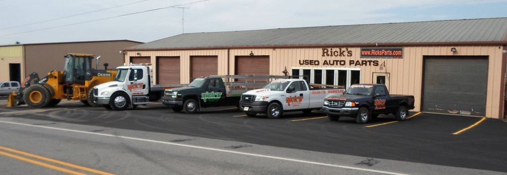 Rick's Used Auto Parts – Quality used and new auto part